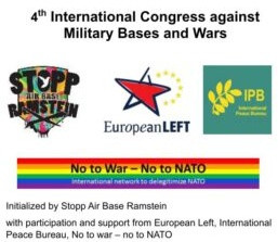 Declaration of the 4th International Congress against Military Bases and War