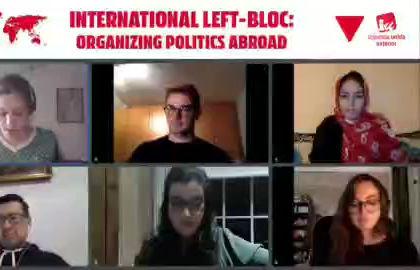 Video - Hanna Grześkiewicz on organising politics abroad