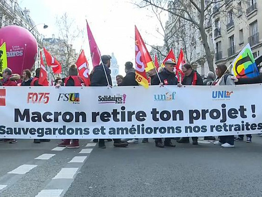 French Movement on a Knife Edge