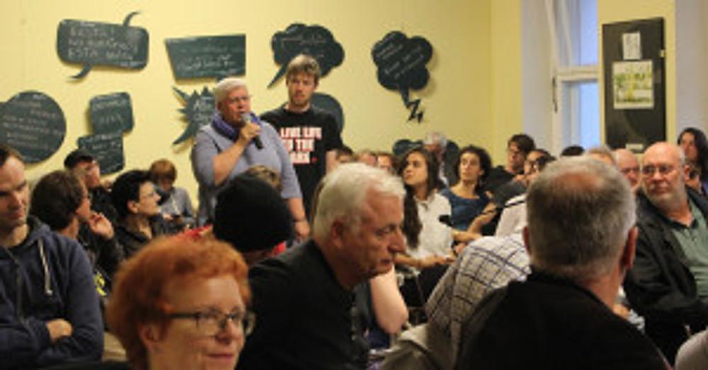 24. Das Publikum Heide im Gespräch
