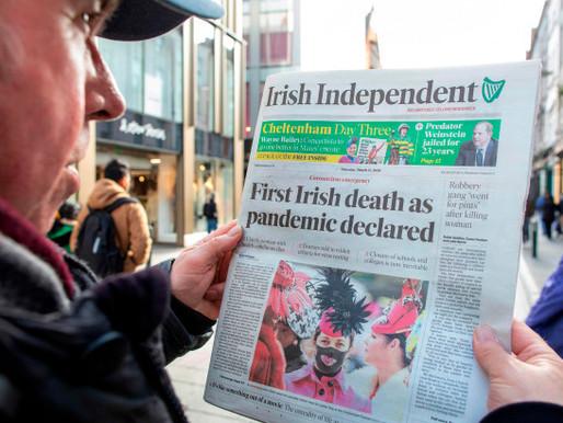 Coronavirus Crisis: News from Ireland