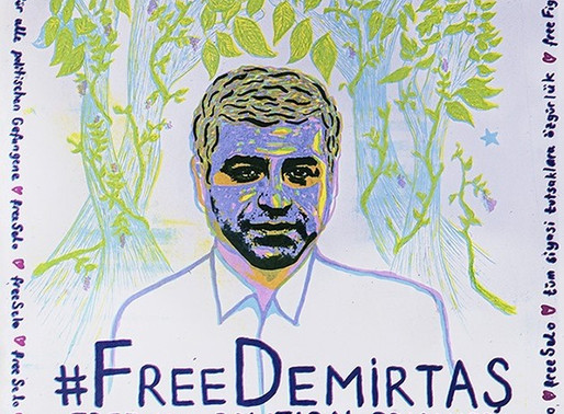 #FreeDemirtaş: Free All Political Prisoners