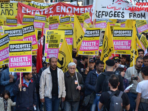 Statement from Greek anti-racists: Protect refugees from coronavirus