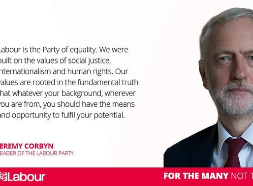 Election in UK: Vote Labour, Vote Corbyn