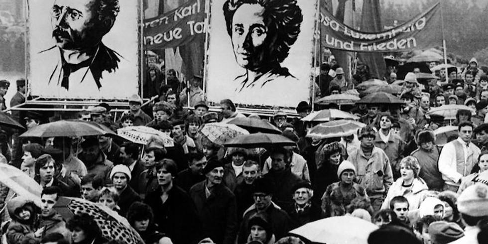 Join us on the Liebknecht-Luxemburg Demo