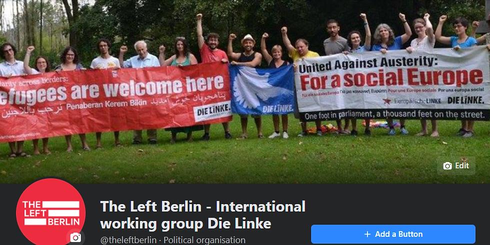 Organising theleftberlin social media