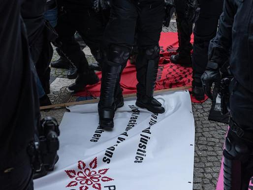Against State Violence – in Sheikh Jarrah, Gaza and Berlin