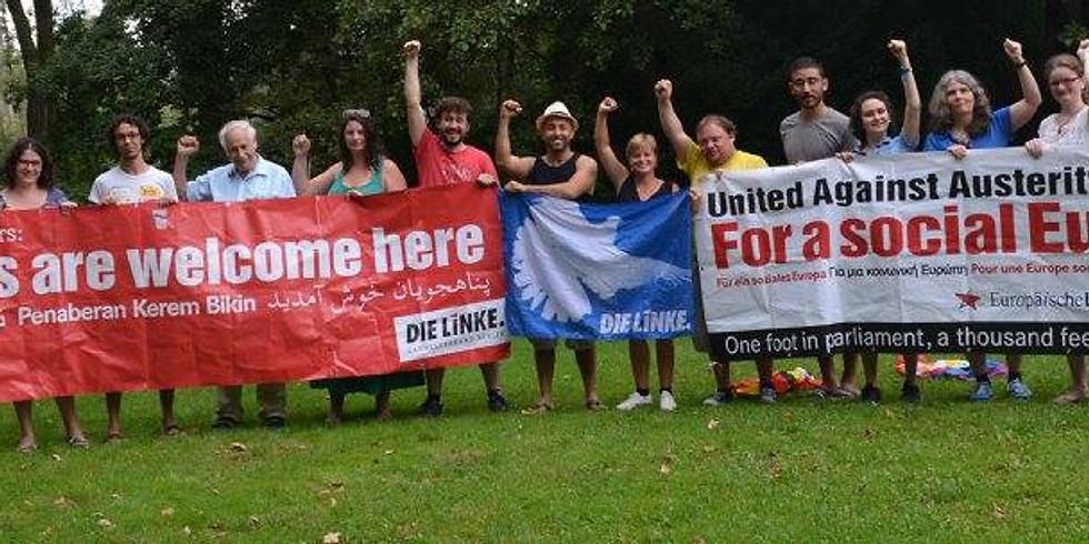 Planning the next Berlin LINKE Internationals meetings