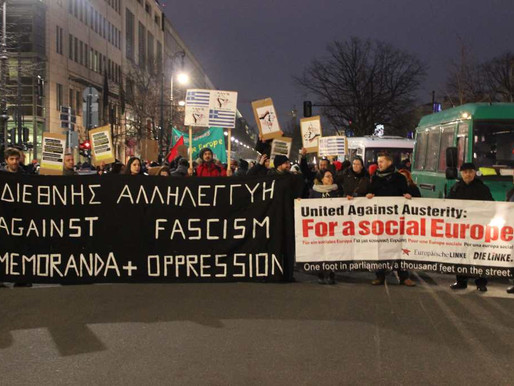 Berlin shows solidarity with SYRIZA government