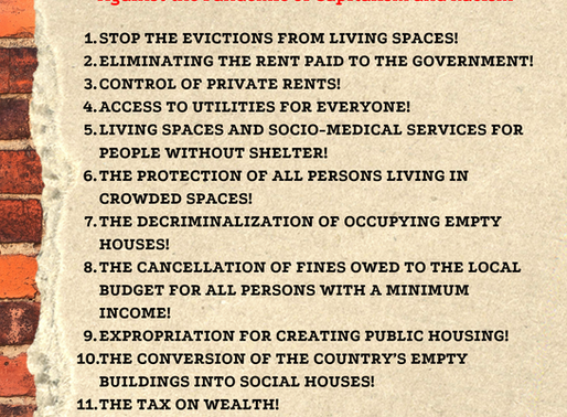 Manifesto for Housing Justice