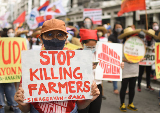 Triple whammy for Filipino farmers