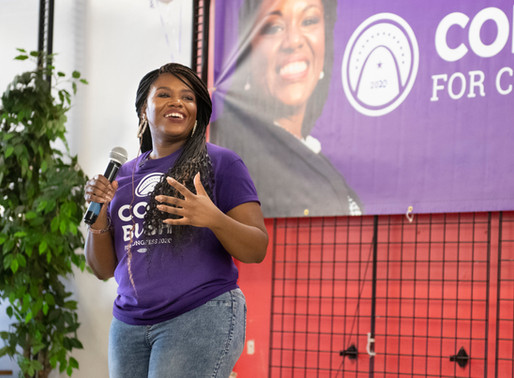 """Cori Bush: """"I'm Coming With the Whole Activist Community, Not Just By Myself"""""""
