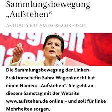 What's eating Sahra Wagenknecht? Aufstehen, refugees and racism