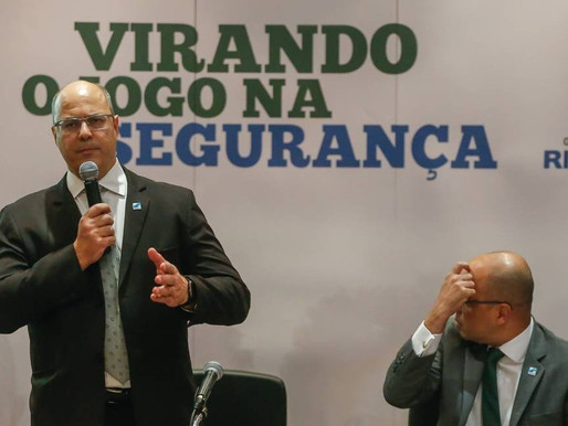 Six Months of Rio de Janeiro Governor Witzel in the Favelas, Part 1: Public Security and Governance