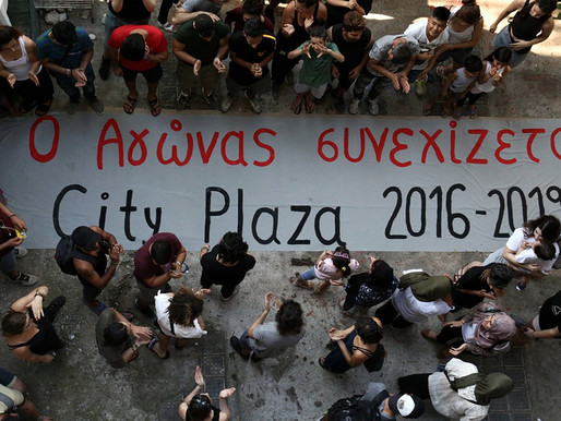 Refugee Accommodation and Solidarity Space City Plaza