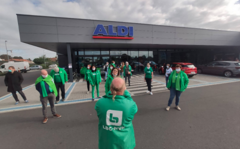 Aldi's workers in Belgium win a first victory for the whole sector