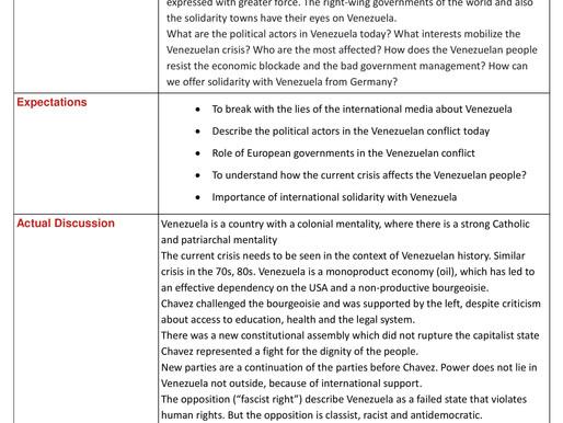 Venezuela today