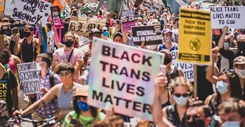 Reclaim Pride Marches for Black Lives in New York City