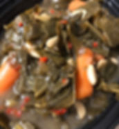 Southern Braised Collard Greens