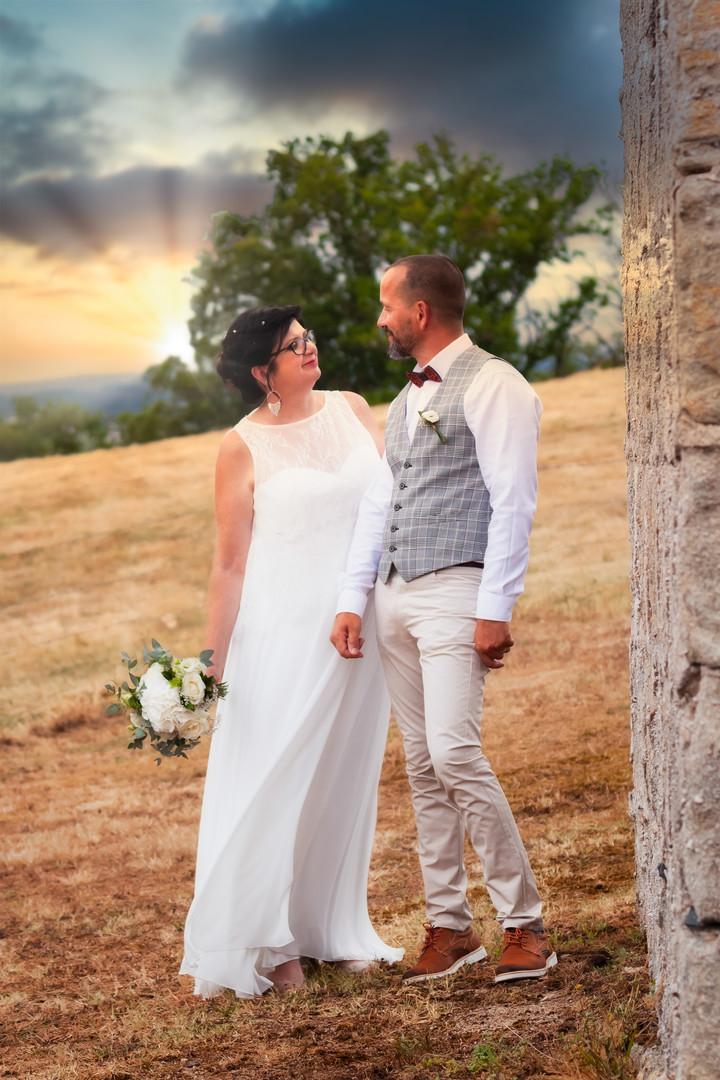 Photos de Mariages, Photo de couple, regards