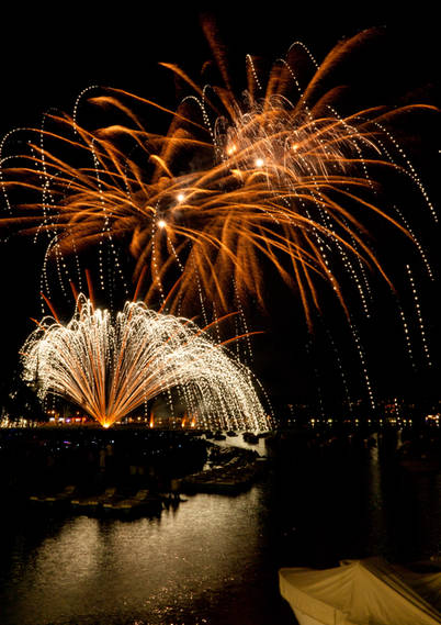 Feux artifices annecy