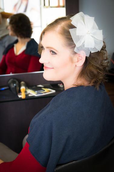 Photos_de_Mariages, chez le coiffeur