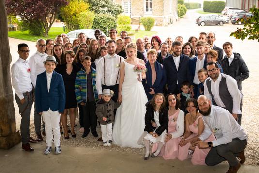 Photos de Mariages, Photo de famille - groupe