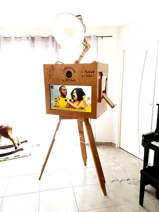 histoire de la fabrication du photobooth