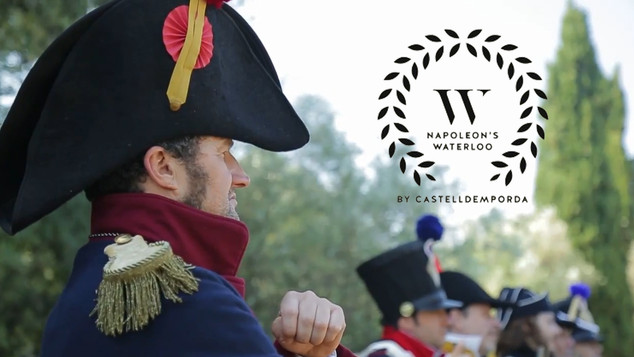 """Promotional video """"Napoleon's Waterloo"""" by Castell d'Empordà"""