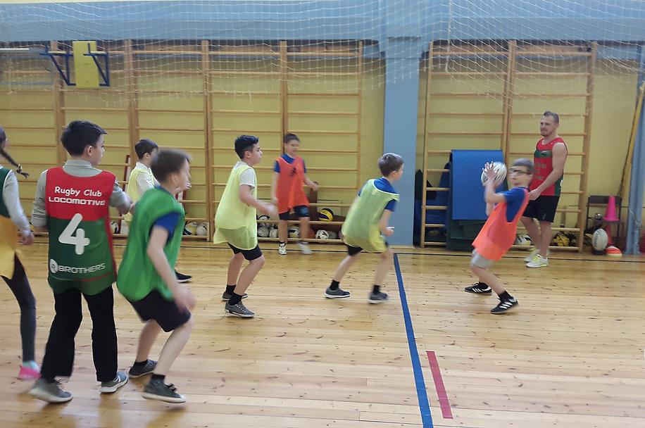 мастер-класс по регби от РК Локомотив 29