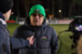 Игорь Овчинников после бронзового матча.