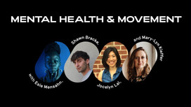 MADE OF MILLIONS  On Mental Health and Movement Panel  Panel Discussion with international non-for profit organization Made Of Millions  Panelists: Shawn Bracke Esie Mensah Jocelyn Lai  Moderator:  Mary-Lyn Kieffer