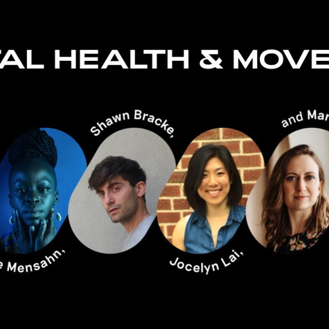 MADE OF MILLIONS - On Mental Health and Movement Panel