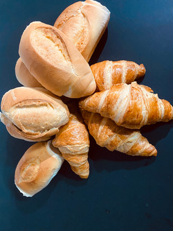 French Rolls and Croissants