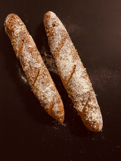 Wheat + Seeds Baguette