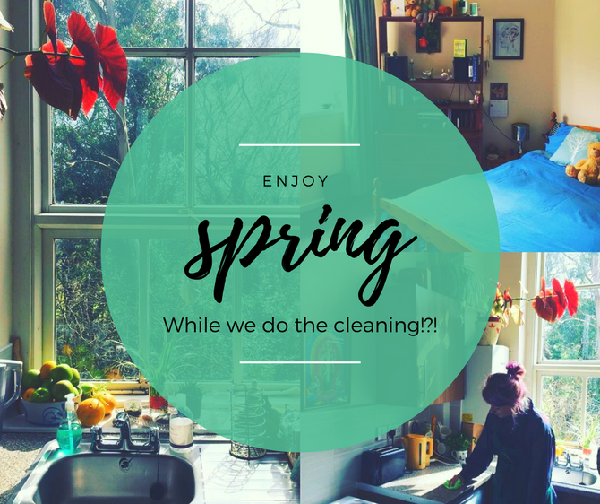 Eco Cleaning Fairies Would Love To Help You Blitz Your Home This Spring!