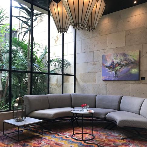 Hotel Sahrai art exhibition