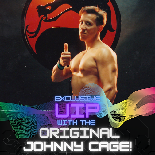 Exclusive Kombat Experience with the Original Johnny Cage!