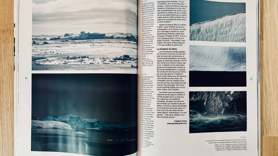 Article portfolio Groenland David Templier Nat'images