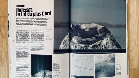 Article portfolio Groenland David Templier Nat'images