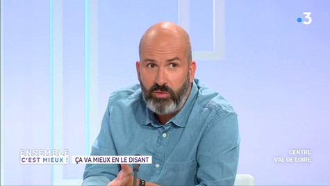 EnsembleCestMieux #RestezChezVous ITW David Templier France 3.mp4
