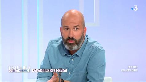 EnsembleCestMieux #RestezChezVous ITW David Templier France 3.mp4