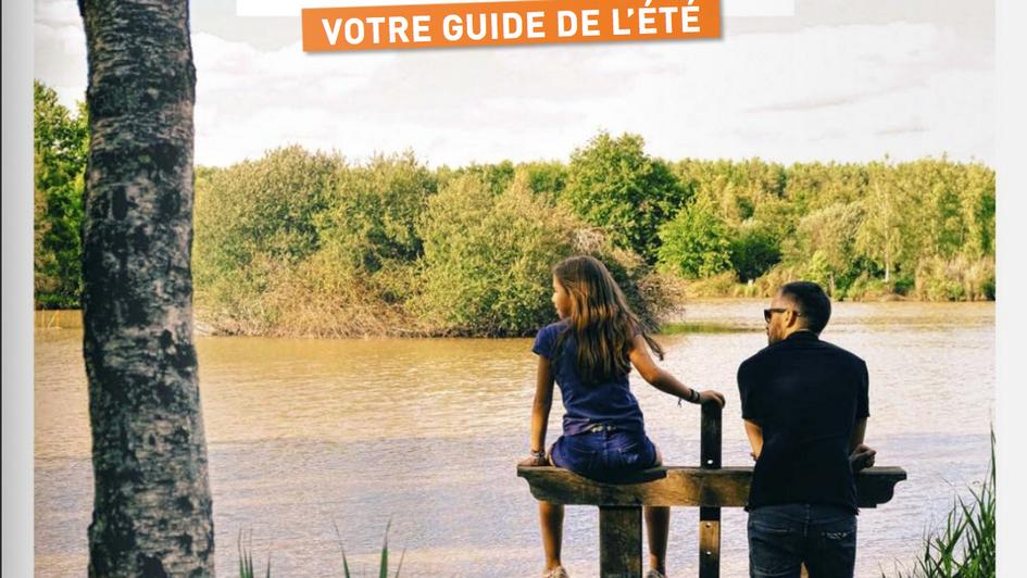 Couverture Loiret magazine David Templier