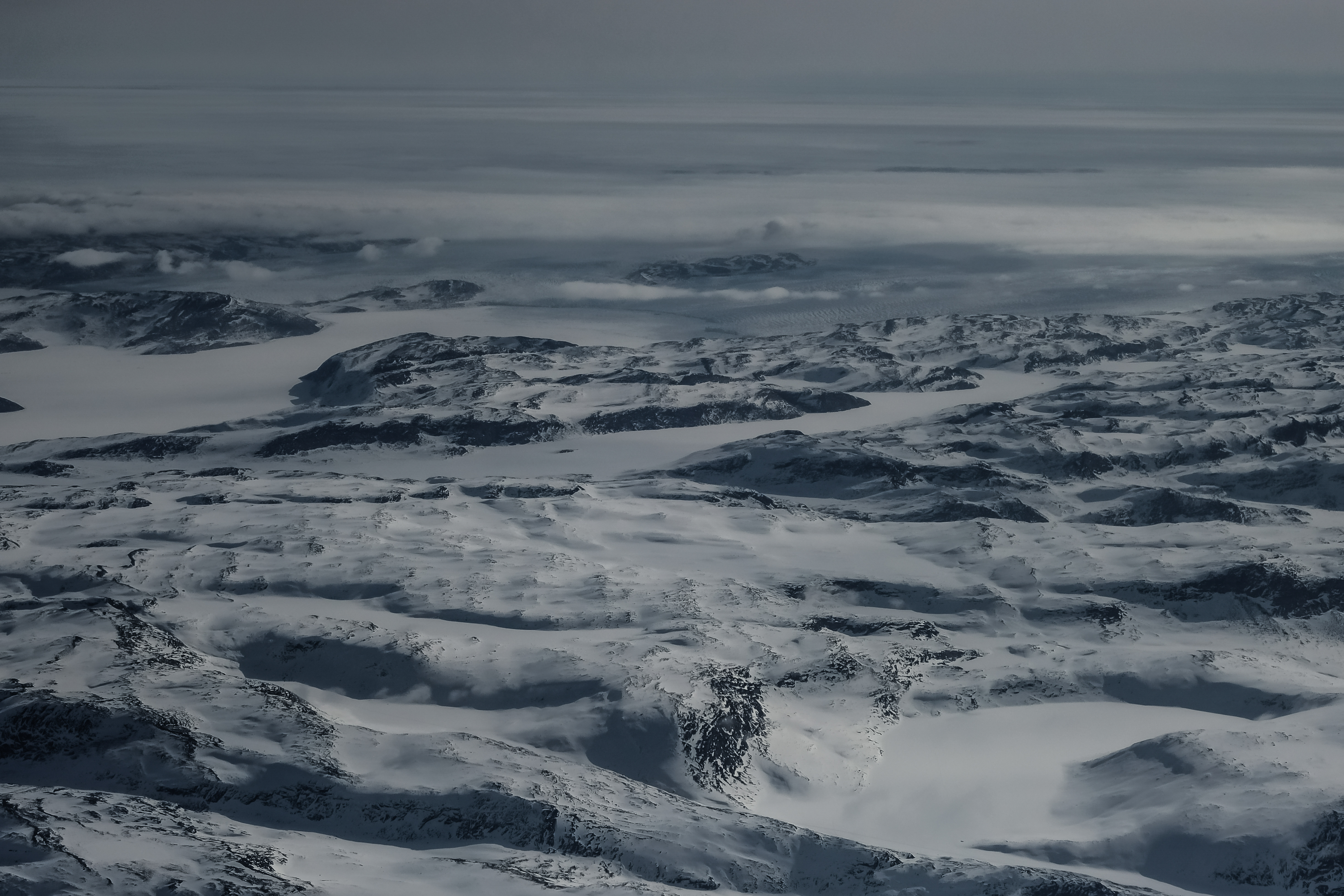 Icebergs d'Ilulissat - glacier Sermeq Ku