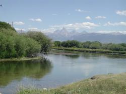 Teton River and Tetons