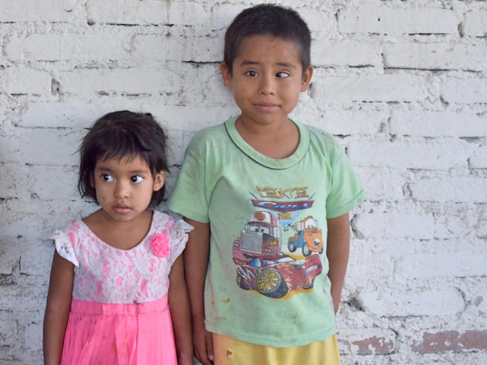 Rodrigo and his sister
