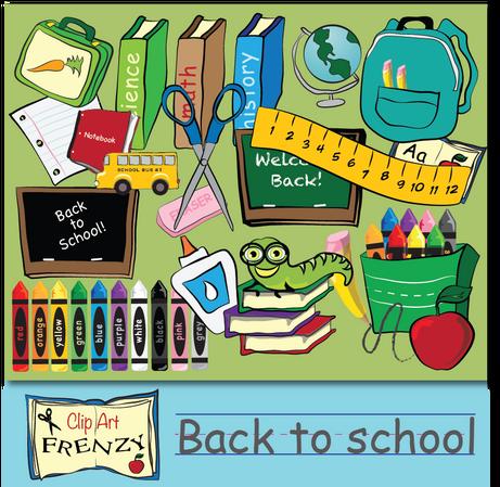 Clip Art Feenzy - Back to School