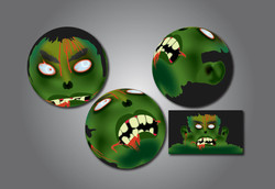 Zombie ball designs