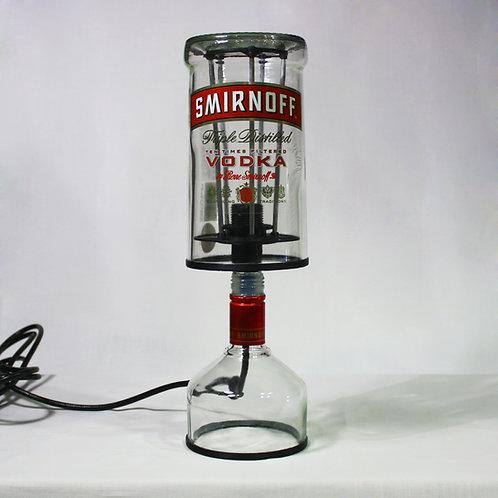 Large Vodka Bottle Lamp