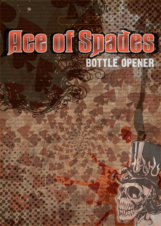 Ace of Spades packaging